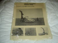 1974 New Holland forage equipment product information book manual
