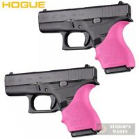 TWO HOGUE GLOCK 42 43 G42 G43 + MORE! GRIP SLEEVES PINK 18207 FAST SHIP