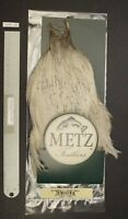 Metz #3 Light Blue Dun Genetic Rooster Neck Dry Fly Rooster Cape Lot-SF 183