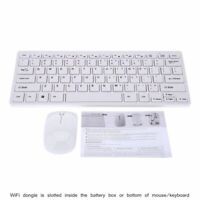 Wireless Mini Keyboard and Mouse for SMART Samsung UE60F6300AKXXU 60quot; LED WT US $23.49