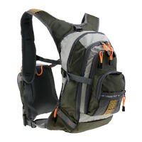 Heavy Duty Fly Fishing Chest Pack Bag/Outdoor Sports Fishing Backpack Combos