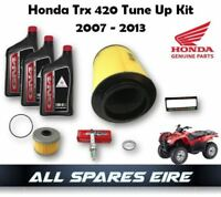 GENUINE HONDA TRX420 RANCHER QUAD/ATV TUNE UP KIT 2007-2013 AIR OIL FILTERS PLUG
