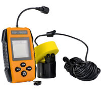 LCD Fish Finder 100m Wired Sonar Sensor Fishfinder Carp Fishing Transducer