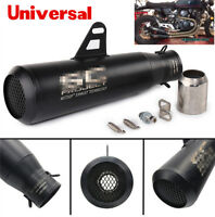 New 51mm Exhaust Tail Pipe Muffler Tip w/ DB Killer For motorcycles ATV