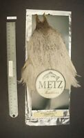 Metz #3 Light Blue Dun Genetic Rooster Neck Dry Fly Rooster Cape Lot-SF 323