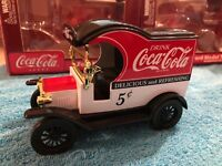 COKE COCA COLA 1900#x27;S MODEL T FORD DIECAST BANK TRUCK a 1912 Gearbox 1:24 car