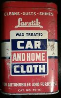 Vintage RARE Las stik Wax Treated Car and Home Cloth