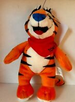 Vintage NWT Kelloggs Frosted Flakes Tony The Tiger Plush Stuffed 8