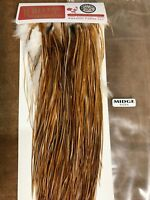 Whiting Hackle, Bronze Grade, Medium Ginger