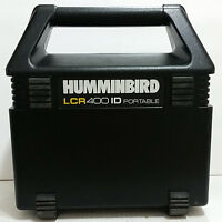 HUMMINBIRD LCR 400 ID Fish Finder With Transducer Portable Kit & Storage Box