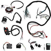 Complete Electrics Wiring Harness for ATV QUAD 150/200/250/300CC Kawasaki Stator