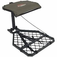 Portable Metal Climbing Tree Stand Deer Game Hunting Seat Mesh Aluminum Hang On