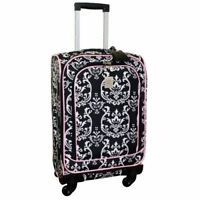 BRAND NEW Jenni Chan Damask 360 Quattro 21 Inch Upright Spinner Carry On Luggage
