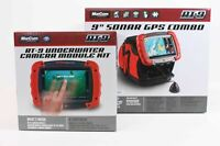 Marcum RT-9 Sonar GPS Combo w/ Camera Kit includes Tablet, Ice Ducer and Camera