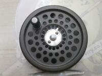 Hardy Fly Fishing Reel Spool Marquis LWT #4 Black w/paint peeling, scratches
