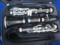 BUFFET-CRAMPON Bb CLARINET model R13 made in France in 1955, NEW PADS, WARRANTY!