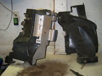 SUZUKI 700 KING QUAD ATV OEM INNER FENDERS  CJ3
