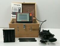 Bottom Line Fish Finder TBL 210F with Manual and Wooden Case-Tested Works