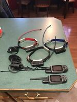 2 Garmin Astro 220 Handhelds with 3 DC30 Tracking Collars With 3 Chargers