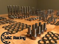 500+ pc HONDA TRX250R TRX 250R POLISHED STAINLESS STEEL ATV BOLT KIT