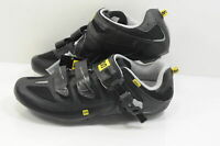 Mavic Men's Avenge Road Cycling Shoes US 6.5 EU 40 Black/Silver Brand New