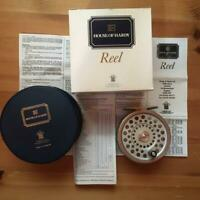House of Hardy Marquis #7 Fly reel fishing Unused item with Instructions