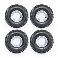 Pack of (4) 16x8-7 16x8.00-7 Tyres Tires for 125cc Kids ATVs Go Kart Dune Buggy