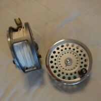 Hardy Marquis salmon No.2 Fly fishing reel w/one spare spool
