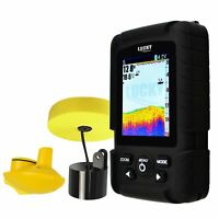 2-in-1 LUCKY Fishfinder English/ Russian Rechargeable Battery Waterproof Design