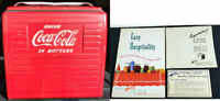 1954 Acton Drink Coca-Cola in Bottles Cooler w/Paperwork Local Pick-Up Only