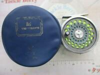 HOUSE OF HARDY Vintage Fly Fishing Reel MARQUIS #6 Black with Case