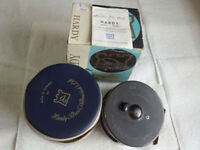 HARDY BROS.LTD Vintage Fly Fishing Reel MARQUIS SALMON NO.2 England w/Case