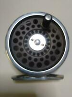 HOUSE OF HARDY Vintage Fly Fishing Reel MARQUIS #4 Black with Case