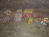 Antique Pepsi Coke Misc Fallout 76 Cork Bottle Cap Collection Some  w Tax Stamp