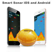 Fish Finder Wireless Sonar Depth Sea Lake Fish Detect IOS Android App Echo Sound
