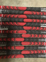 13 Golf Pride New Decade MultiCompound Midsize Grips- Red