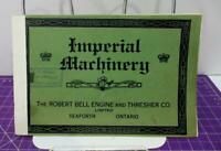 Imperial Machinery Robert Bell Engine & Thresher Company Traction early 1900s