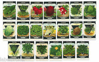 20 VINTAGE SEED PACKET LOT NOS C1920 HERBS GARDEN LITHOGRAPH GENERAL STORE H44