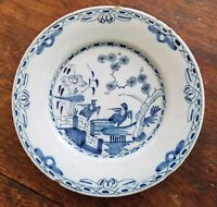 18th CENTURY ENGLISH DELFT PLATE CHAPPELL COLLECTION