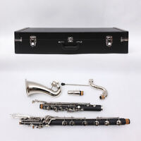 Bass Clarinet Model PADS And Case Low c Nice Tone #LC136