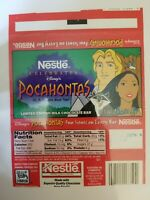 RARE VINTAGE NESTLE CELEBRATES DISNEY POCAHONTAS LIMITED EDITION WRAPPER