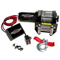 Winch Kit 12v 3000lb 1.34hp 35ft Cable Remote ATV ATC Golf Cart Tractor Mower