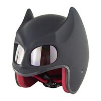 Bat Ear Motorcycle Helmet Full Face DOT SM560 Helmet  Vintage Helmet