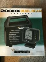 Fishfinder Humminbird 200DX Portable. Complete set up in the box