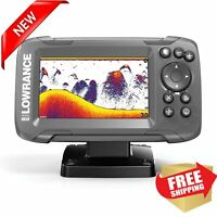 NEW LOWRANCE Fish Finder GPS Fishfinder Autotuning Sonar Broadband Sounder