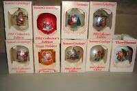9-Vintage Campbell's Kids Christmas Tree Ornaments