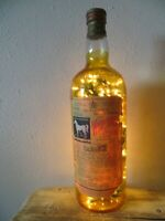 Vintage White Horse Cellar Scotch Whiskey 1 Gallon Size Display Bottle