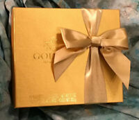 quot;GODIVAquot; CHOCOLATIER Empty Candy Box with Bow