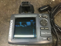 (2) Lowrance Fish Finders with Transducers