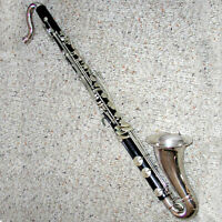 Vintage Buffet Crampon Bass Clarinet w Case - Circa 1950 - Outstanding Condition